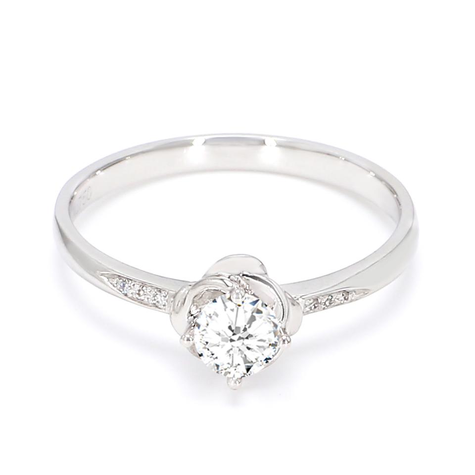 18K White Gold Sophia Diamond Engagement Ring