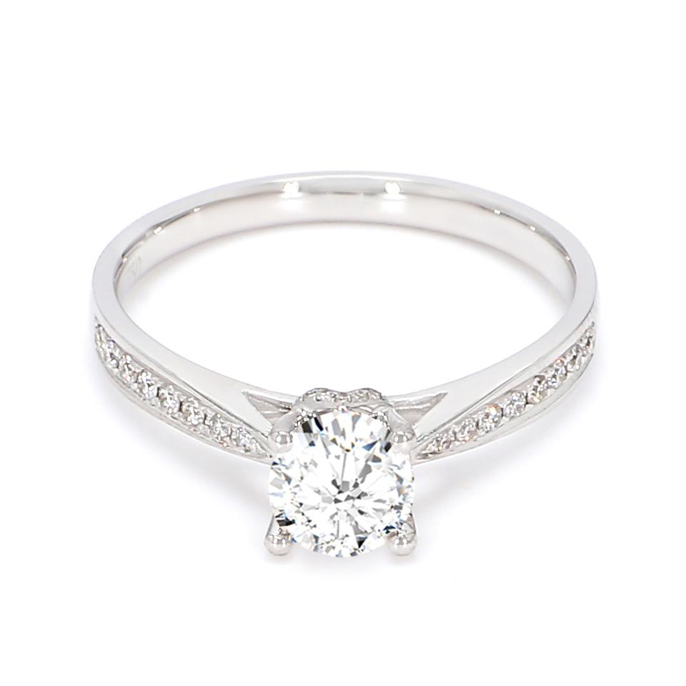18K White Gold Nyx Diamond Engagement Ring