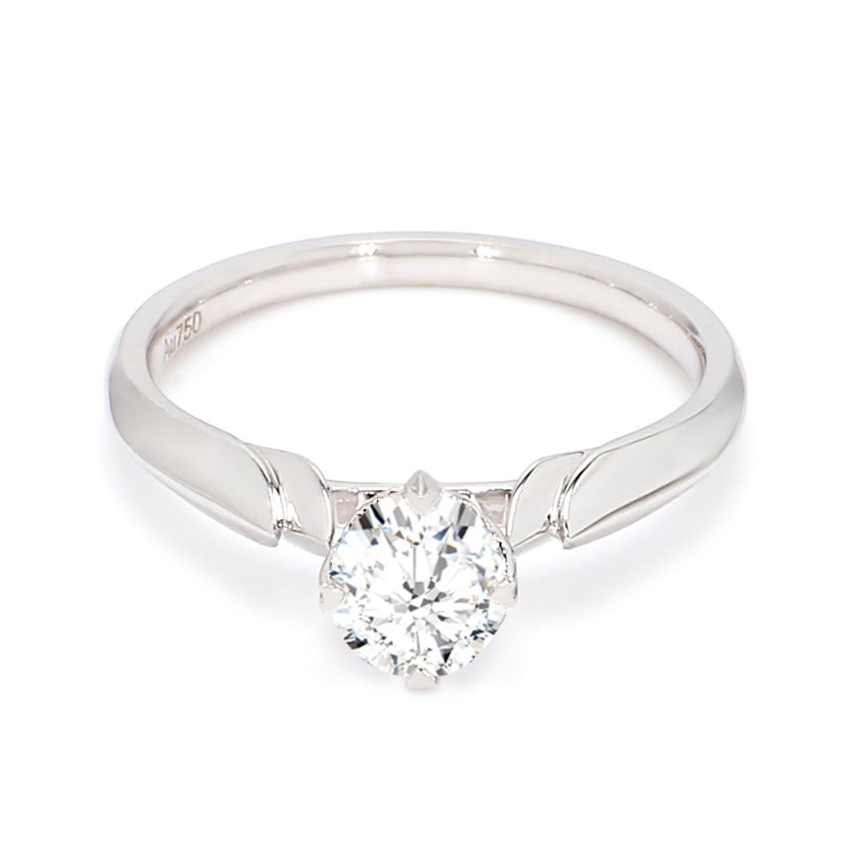 18K White Gold Terra Diamond Engagement Ring
