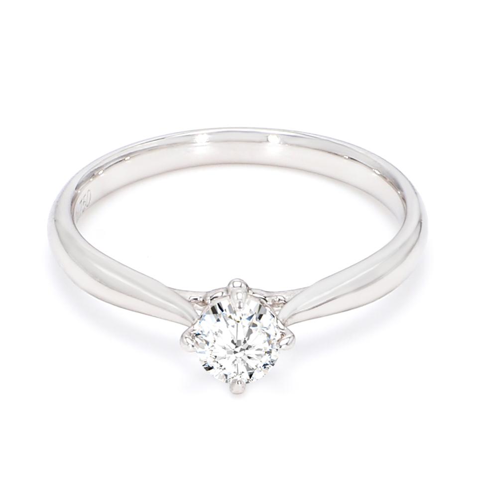 18K White Gold Seraphim Diamond Engagement Ring