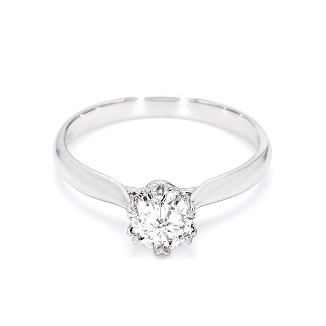 18K Rose Gold Asher Engagement Ring