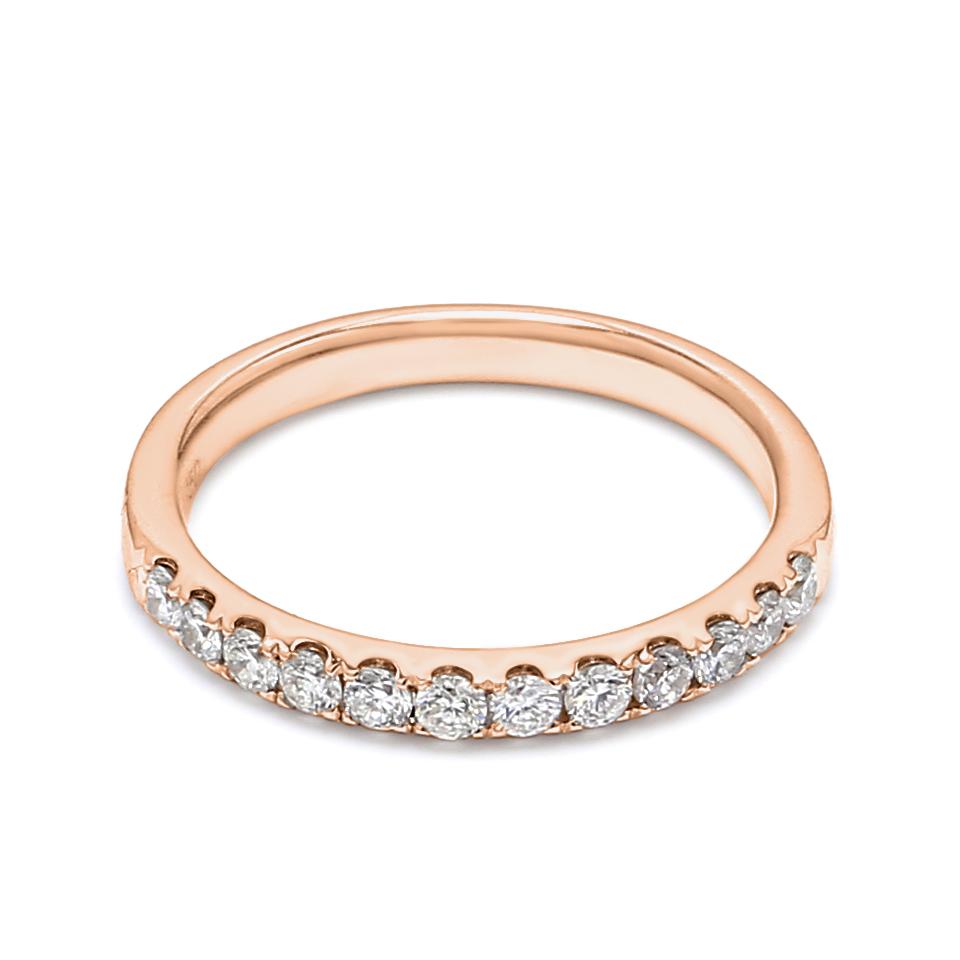 18K Rose Gold Lena Diamond Engagement Ring