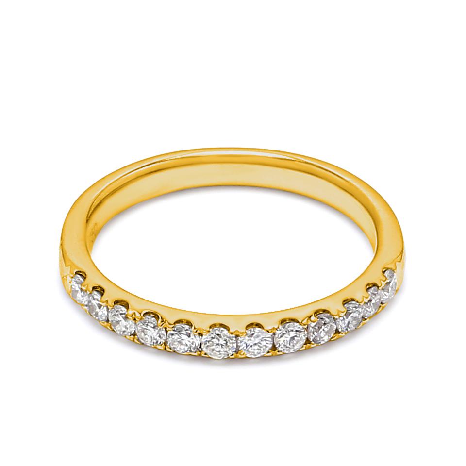18K Yellow Gold Lena Diamond Engagement Ring