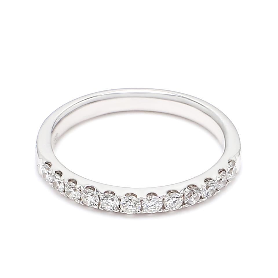 18K White Gold Lena Diamond Engagement Ring